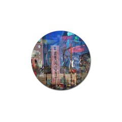 Las Vegas Strip Walking Tour Golf Ball Marker (4 Pack) by CrypticFragmentsDesign