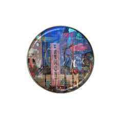 Las Vegas Strip Walking Tour Hat Clip Ball Marker (4 Pack) by CrypticFragmentsDesign