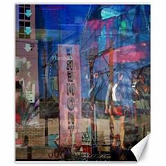 Las Vegas Strip Walking Tour Canvas 20  X 24   by CrypticFragmentsDesign