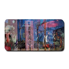 Las Vegas Strip Walking Tour Medium Bar Mats by CrypticFragmentsDesign