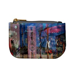 Las Vegas Strip Walking Tour Mini Coin Purses by CrypticFragmentsDesign