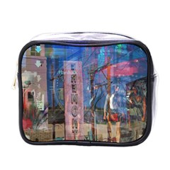 Las Vegas Strip Walking Tour Mini Toiletries Bags by CrypticFragmentsDesign