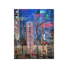 Las Vegas Strip Walking Tour Shower Curtain 48  X 72  (small)  by CrypticFragmentsDesign