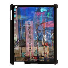 Las Vegas Strip Walking Tour Apple Ipad 3/4 Case (black) by CrypticFragmentsDesign