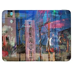 Las Vegas Strip Walking Tour Samsung Galaxy Tab 7  P1000 Flip Case by CrypticFragmentsDesign