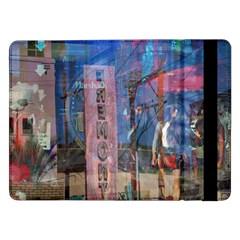 Las Vegas Strip Walking Tour Samsung Galaxy Tab Pro 12 2  Flip Case by CrypticFragmentsDesign