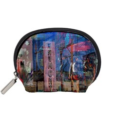 Las Vegas Strip Walking Tour Accessory Pouches (small)  by CrypticFragmentsDesign