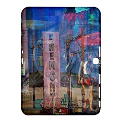 Las Vegas Strip Walking Tour Samsung Galaxy Tab 4 (10 1 ) Hardshell Case  by CrypticFragmentsDesign