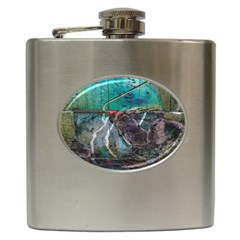 Vegas The Deep End  Hip Flask (6 Oz)