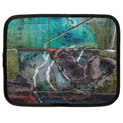 Vegas The Deep End  Netbook Case (large) by CrypticFragmentsColors