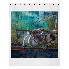 Vegas The Deep End  Shower Curtain 60  X 72  (medium)  by CrypticFragmentsColors