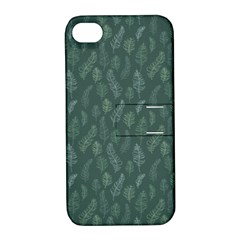 Solid Black Apple Iphone 4/4s Hardshell Case With Stand by Zandiepants