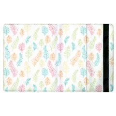Whimsical Feather Pattern,Fresh Colors, Apple iPad 3/4 Flip Case by Zandiepants