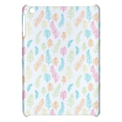 Whimsical Feather Pattern,fresh Colors, Apple Ipad Mini Hardshell Case by Zandiepants