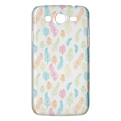 Whimsical Feather Pattern,fresh Colors, Samsung Galaxy Mega 5 8 I9152 Hardshell Case  by Zandiepants