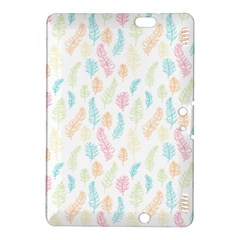 Whimsical Feather Pattern,fresh Colors, Kindle Fire Hdx 8 9  Hardshell Case by Zandiepants