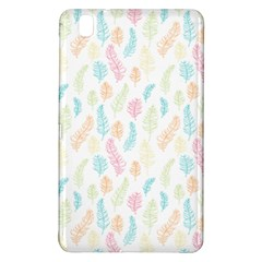 Whimsical Feather Pattern,fresh Colors, Samsung Galaxy Tab Pro 8 4 Hardshell Case by Zandiepants