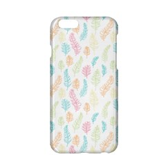 Whimsical Feather Pattern,fresh Colors, Apple Iphone 6/6s Hardshell Case by Zandiepants