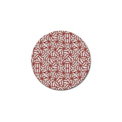 Interlace Tribal Print Golf Ball Marker (10 Pack) by dflcprints
