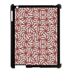 Interlace Tribal Print Apple Ipad 3/4 Case (black) by dflcprints