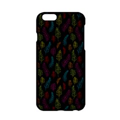 Whimsical Feather Pattern, Bright Pink Red Blue Green Yellow, Apple Iphone 6/6s Hardshell Case by Zandiepants