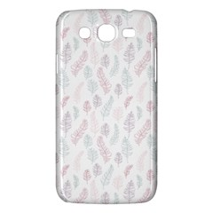 Whimsical Feather Pattern, Soft Colors, Samsung Galaxy Mega 5 8 I9152 Hardshell Case  by Zandiepants