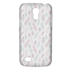 Whimsical Feather Pattern, Soft Colors, Samsung Galaxy S4 Mini (gt I9190) Hardshell Case  by Zandiepants