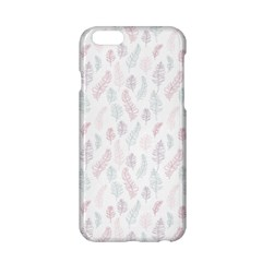 Whimsical Feather Pattern, Soft Colors, Apple Iphone 6/6s Hardshell Case by Zandiepants