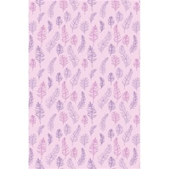 Whimsical Feather Pattern, Pink & Purple, 5 5  X 8 5  Notebook by Zandiepants