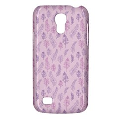 Whimsical Feather Pattern, Pink & Purple, Samsung Galaxy S4 Mini (gt I9190) Hardshell Case  by Zandiepants
