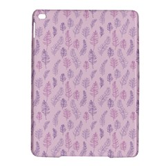 Whimsical Feather Pattern, Pink & Purple, Apple Ipad Air 2 Hardshell Case by Zandiepants
