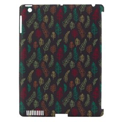Whimsical Feather Pattern, Autumn Colors, Apple Ipad 3/4 Hardshell Case (compatible With Smart Cover) by Zandiepants