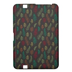 Whimsical Feather Pattern, Autumn Colors, Kindle Fire Hd 8 9  Hardshell Case by Zandiepants
