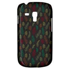 Whimsical Feather Pattern, Autumn Colors, Samsung Galaxy S3 Mini I8190 Hardshell Case by Zandiepants