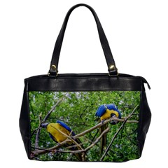 South American Couple Of Parrots Office Handbags by dflcprints