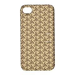 Braided Pattern Apple Iphone 4/4s Hardshell Case With Stand by TastefulDesigns