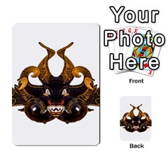 Demon Tribal Mask Multi Purpose Cards (rectangle)  by dflcprints