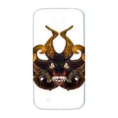 Demon Tribal Mask Samsung Galaxy S4 I9500/i9505  Hardshell Back Case by dflcprints