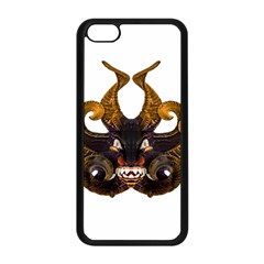 Demon Tribal Mask Apple Iphone 5c Seamless Case (black) by dflcprints