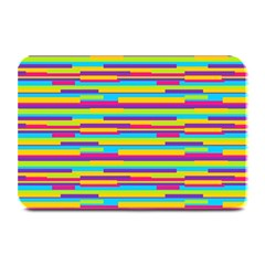 Colorful Stripes Background Plate Mats by TastefulDesigns