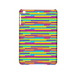 Colorful Stripes Background iPad Mini 2 Hardshell Cases by TastefulDesigns
