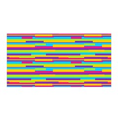 Colorful Stripes Background Satin Wrap by TastefulDesigns