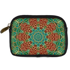 The Wooden Heart Mandala,giving Calm Digital Camera Cases by pepitasart