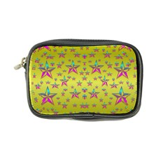 Flower Power Stars Coin Purse by pepitasart