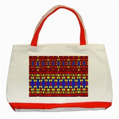 Egypt Star Classic Tote Bag (red) by MRTACPANS
