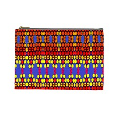 Egypt Star Cosmetic Bag (large)  by MRTACPANS