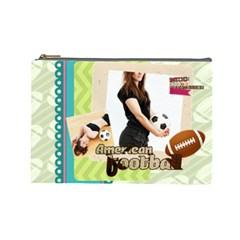 Sport Theme By Sport   Cosmetic Bag (large)   Hy5sn3tfg53q   Www Artscow Com Front