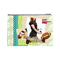Sport Theme By Sport   Cosmetic Bag (large)   Hy5sn3tfg53q   Www Artscow Com Back