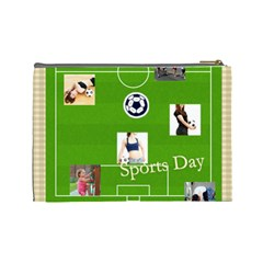 Sport Theme By Sport   Cosmetic Bag (large)   Xodg7xe3hmq5   Www Artscow Com Back
