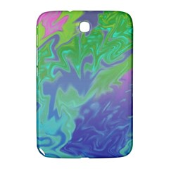 Green Blue Pink Color Splash Samsung Galaxy Note 8 0 N5100 Hardshell Case  by BrightVibesDesign